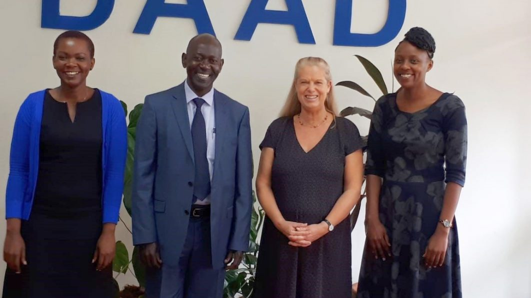 COURTESY CALL ON DAAD REGIONAL OFFICES